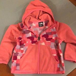 12-18M baby girl NorthFace fleece